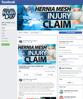 Hernia Mesh Injury Claims